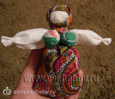 Кукла-оберег - на бэби.ру