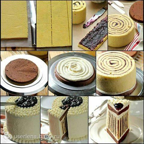 Как сделать торт в домашних условия пирожные