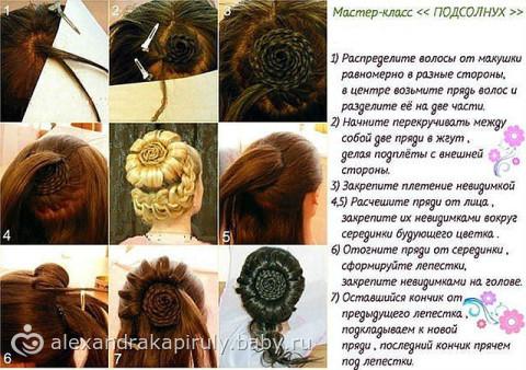 Мастер класс плетение волос сам себе