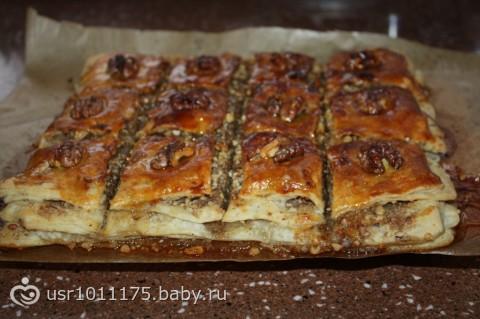 Пироги из магазинного дрожжевого теста рецепты с