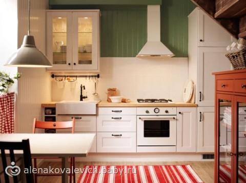 Модели кухни от Икеа на фото.