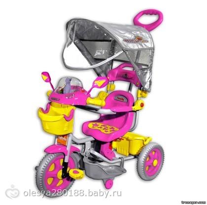 Велосипеды детские 3-х колесные