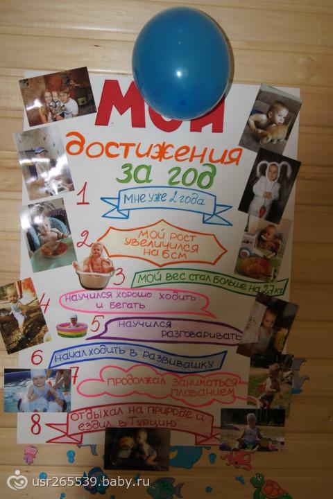 Плакат с надписями и