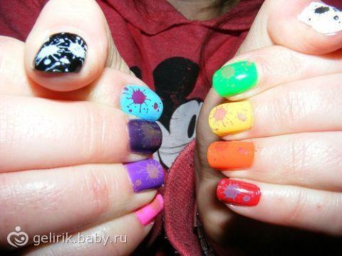 Дизайн стрекоза и дизайн ногтей фото