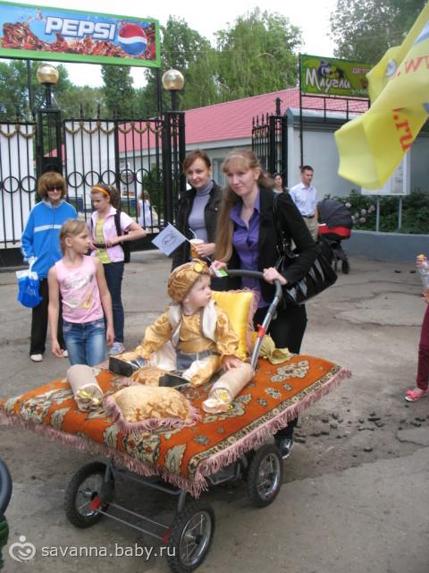 Парад колясок сделать своими руками
