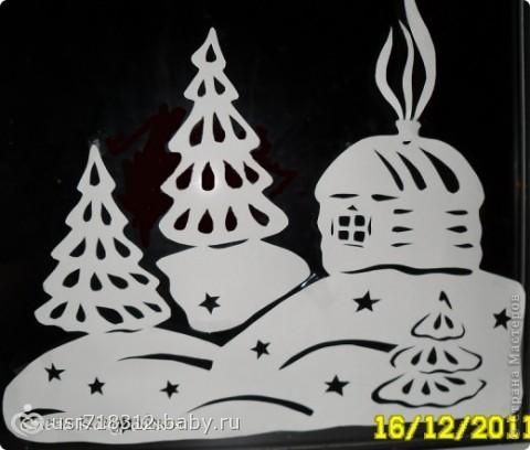 Снеговики из шаров из ниток своими руками