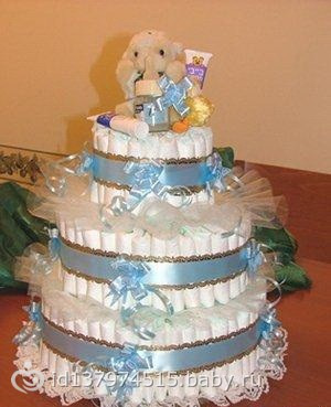 Торт дом своими руками