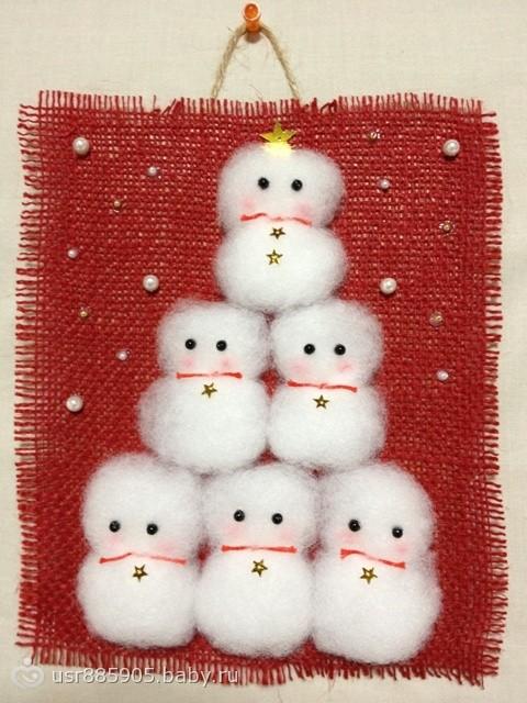 Новогодние украшения своими руками ютуб фото 891