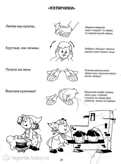 Пальчиковые игры в картинках для всех