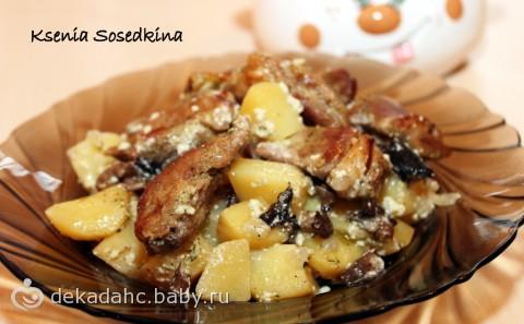 Рецепт кабачки в чесночно сливочном соусе