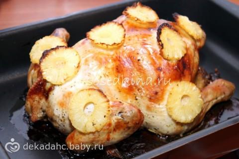 Курица в духовке рецепты с овощами фото