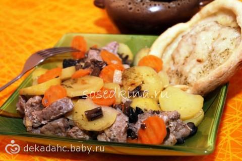 говядина французски картошкой рецепт фото