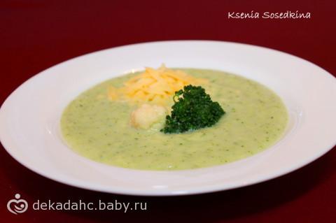 Сырный суп рецепт с брокколи
