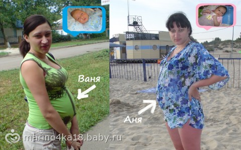 Фото живота беременной мальчиком и девочкой сравнение