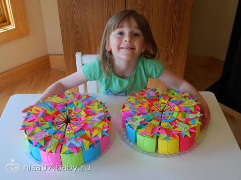 Торт детский своими руками