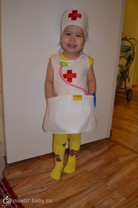Сшить детский костюм медсестры своими руками 84