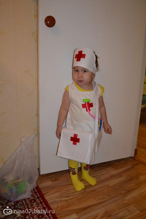 Сшить доктора в детский сад
