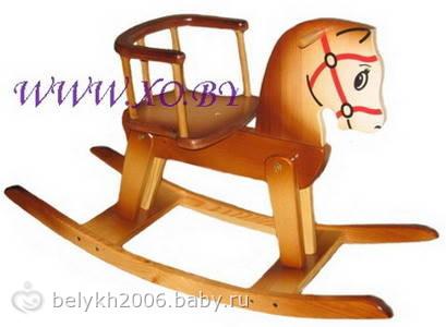 Подарок на годик лошадка-качалка / лошадка качалка на годик