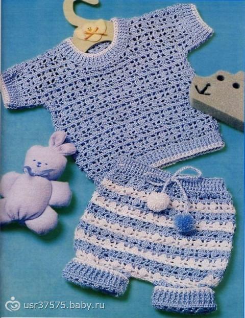 Для детей до года Вязание