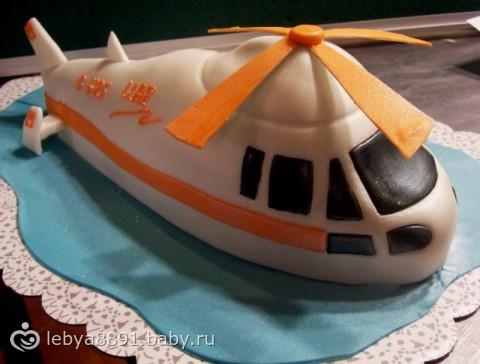 Рецепт торта с фото самолета