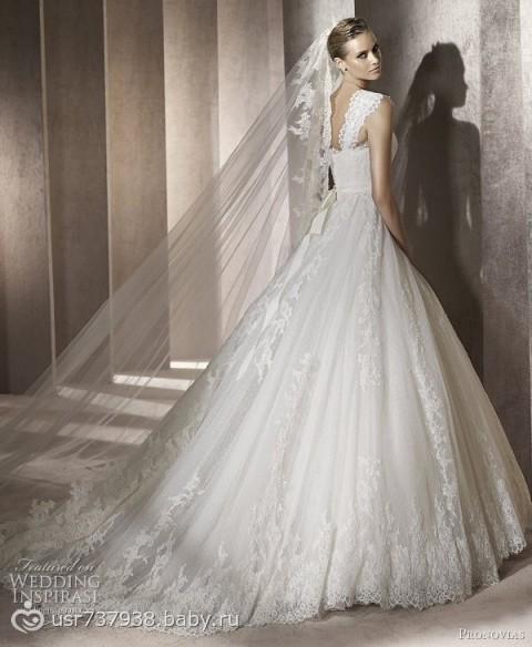 Свадебное платье - на бэби.ру