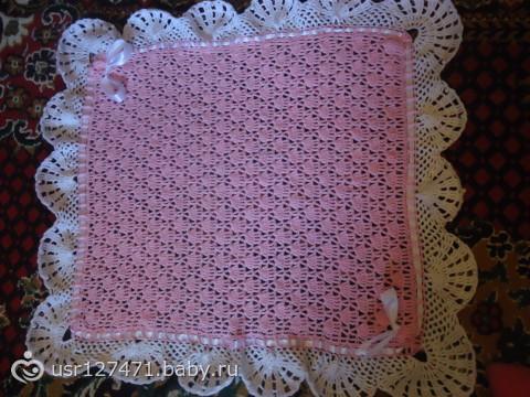 плед-одеялко на выписку