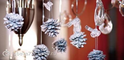 Идеи украшаем дом к новому году для
