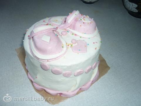 Наш торт из Мастики.