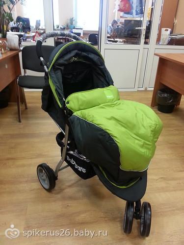 Прогулочная коляска baby care jogger lite фото