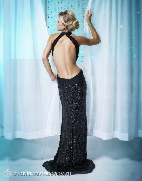 Платья с открытой спиной 2011 Вечерние платьяПлатья с открытой спиной 2011 - одно из самых модных направлений