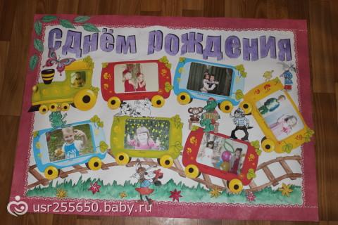 Плакат на день рождения своими руками 16 лет
