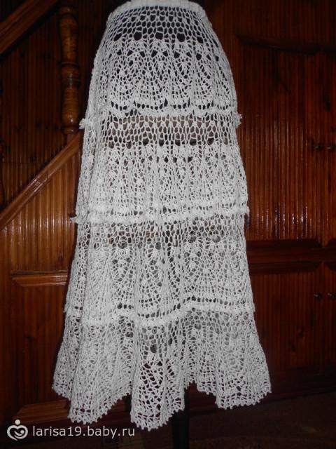 На фото: крючком схема вязания