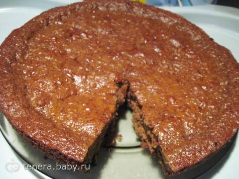 Быстрый пирог на кефире и варенье рецепт с фото