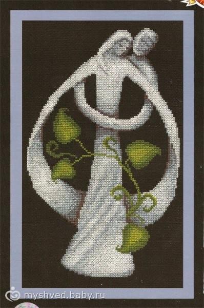 Вышивка крестом - схемы по вышивке скачать бесплатно схемы вышивки Схема черно крестом черно белые СХЕМЫ ВЫШИВКИ...