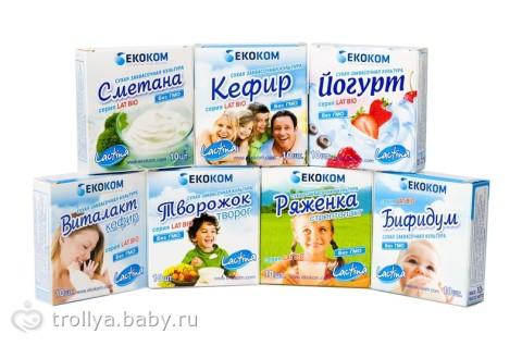 Молочные продукты домашнего приготовления