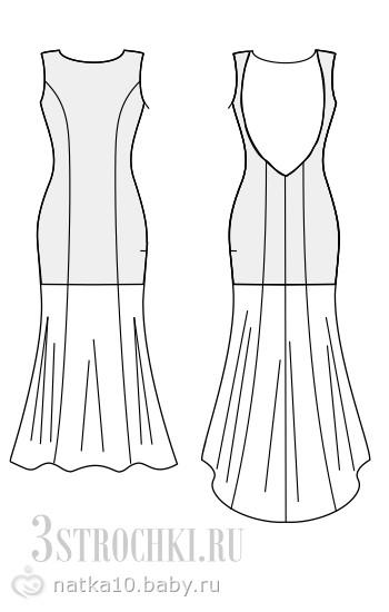 фото вечерних платьев из трикотажа