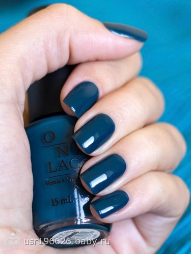 Синие и зеленые ногти