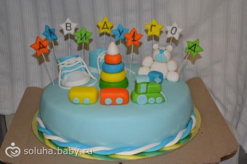 Торт на заказ давиду 1 годик