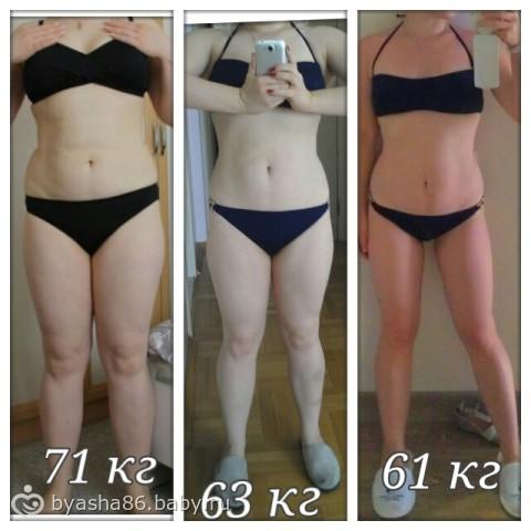 яичная диета 4 неделя фото до и после