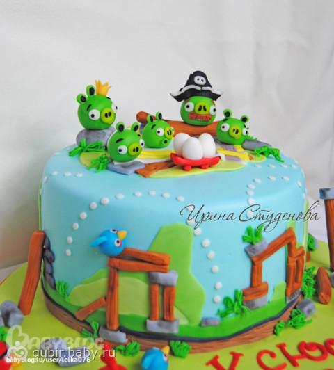 Торт своими руками на 8 лет