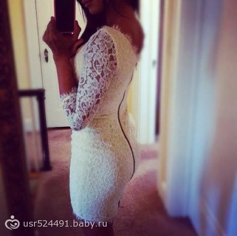 Девушка в платье без лица