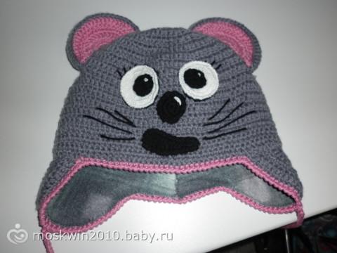 шапочка мышка на даче бегать!
