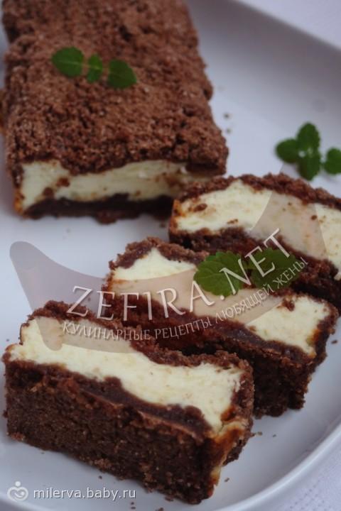 рецепт диетический пирог с творогом #16
