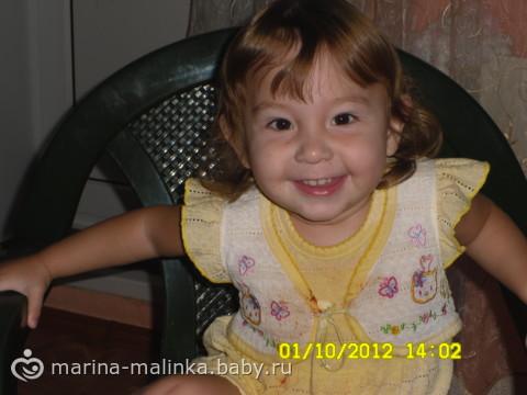 С днем рождения моя малышка 2 годика