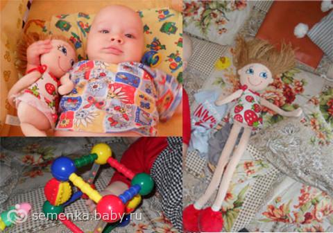 Игрушка для 9 месячного ребенка своими руками