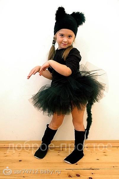 Детские новогодние костюмы на девочку своими руками