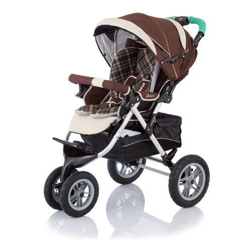 Чудесная прогулочная коляска, как для зимы так и для лета!