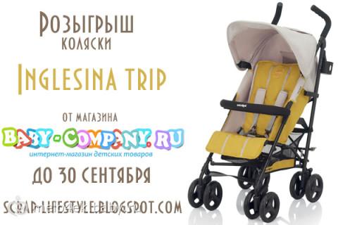 Выиграйте  коляску  Inglesina  Trip