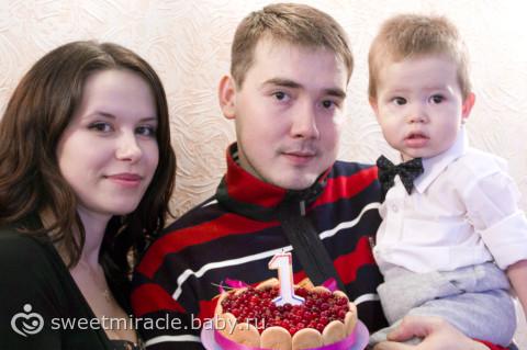 Наш торт на 1 годик для всех