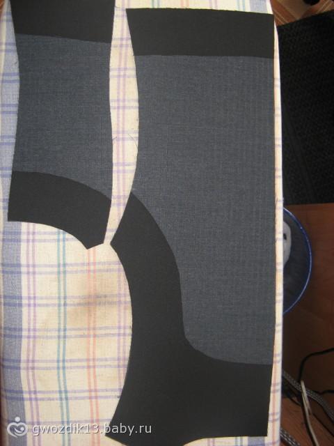 Как сшить жилетку из юбки